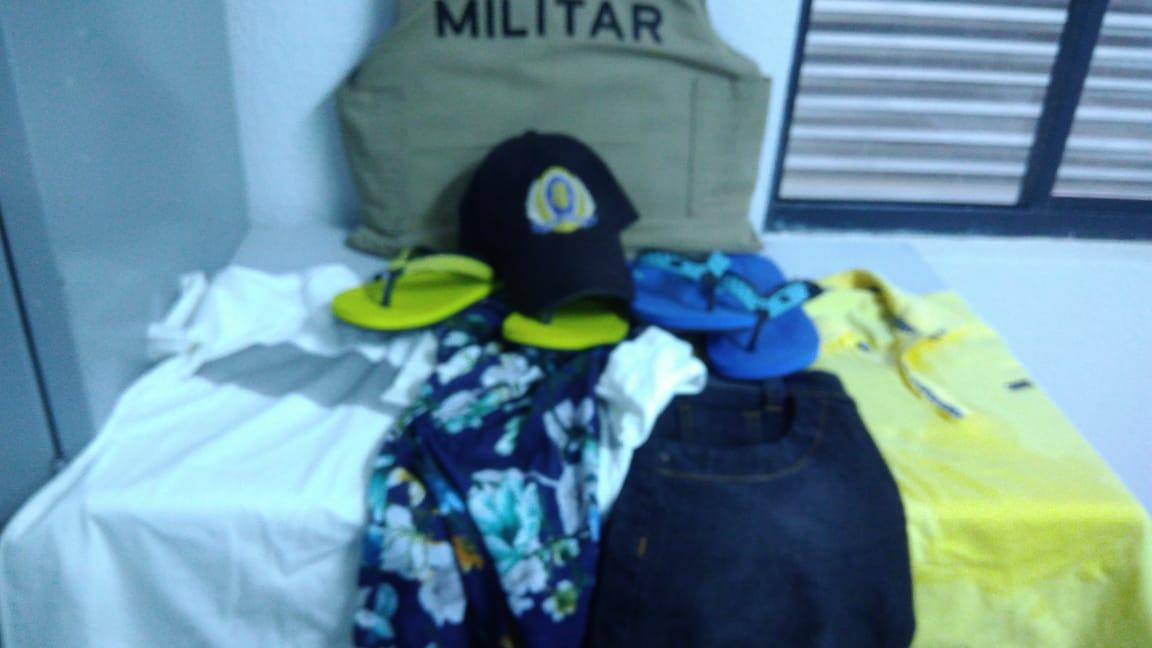 Polícia Militar do 8º BPM realiza prisão e recupera objetos furtados em Paraíso TO