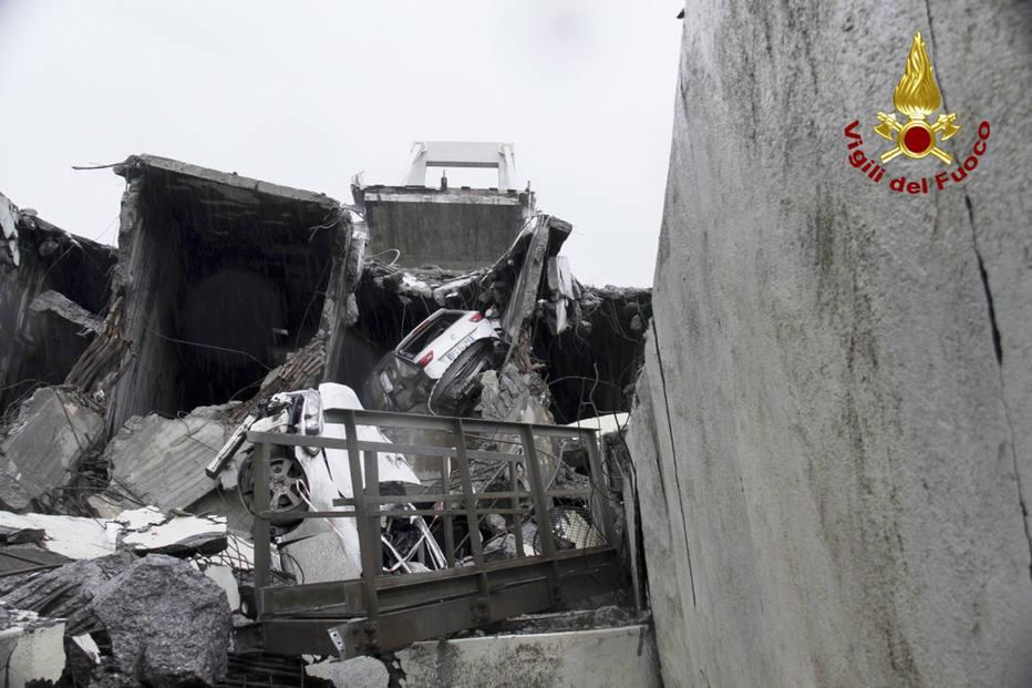 Milagre em meio a tragédia: goleiro sobreviveu ao desabamento em Gênova
