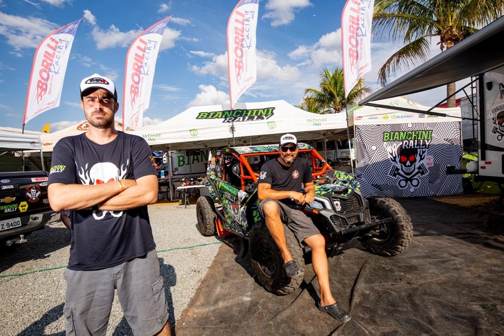 Fabrício Bianchini/Adhemar Pereira completam a desafiadora etapa de abertura do Rally dos Sertões