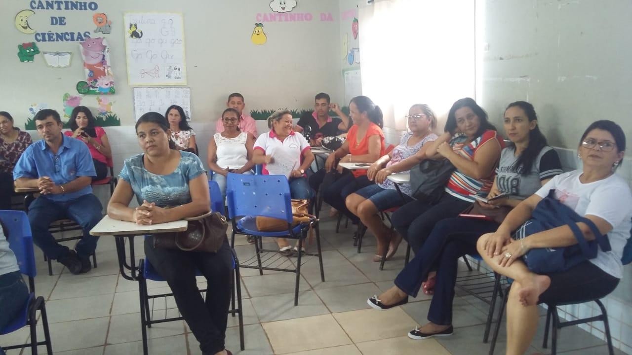 Profissionais da Educação Municipal de Monte Santo (TO) participam de estudos da BNCC