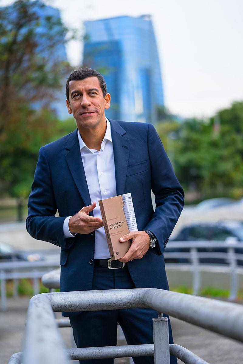 """""""A Maior Ação Do Mundo"""": Livro relata a saga de advogado brasileiro em ação contra Petrobras"""