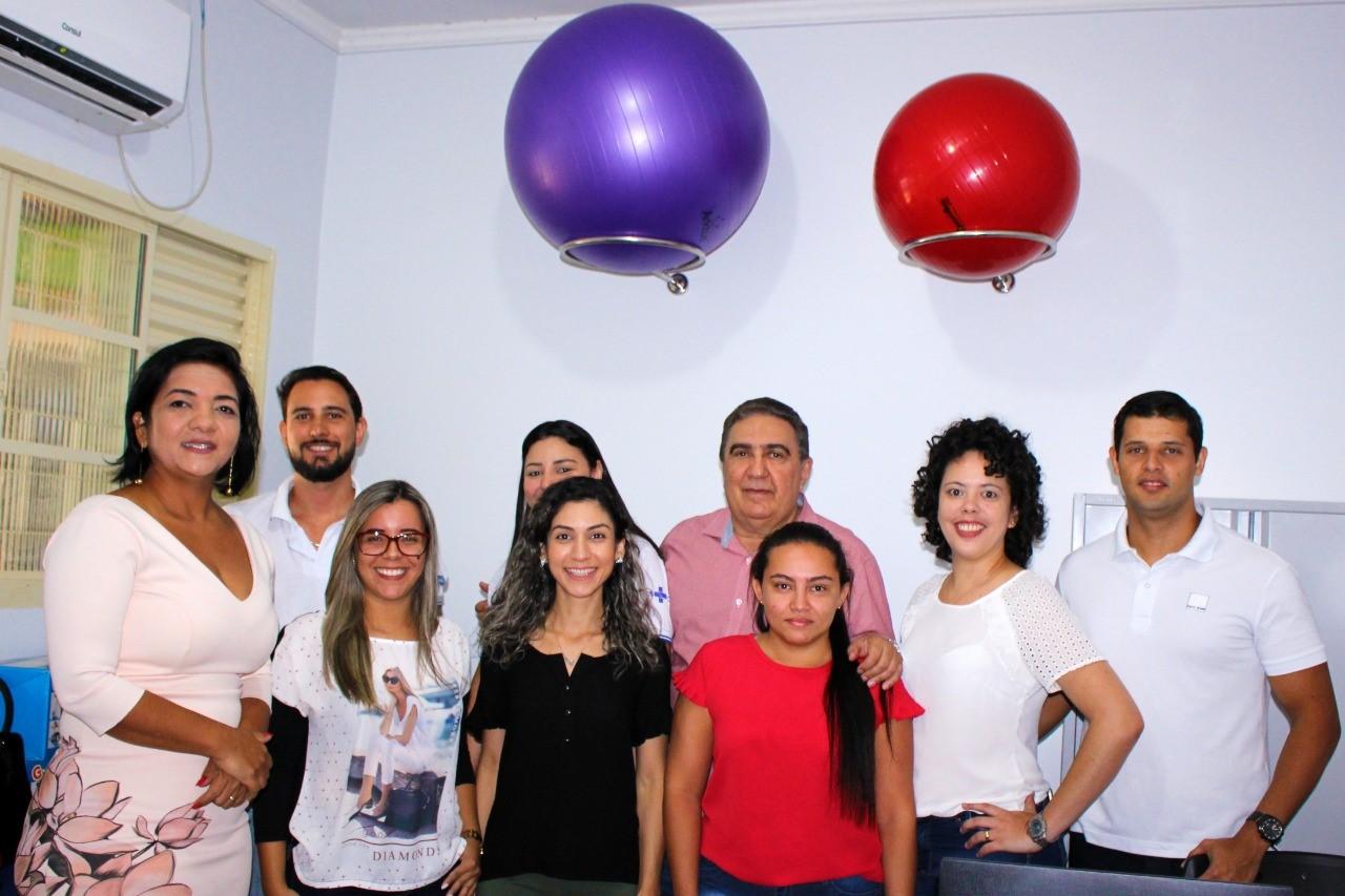 Para Laurez Moreira inauguração da sala de serviço especializado em reabilitação é o início de um grande sonho