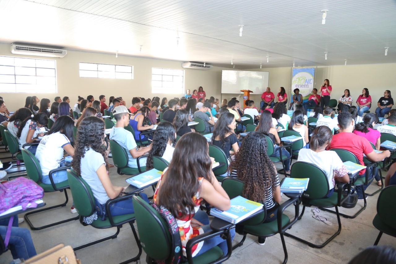 Aulões ToNoEnem ocorrem em onze diretorias regionais de ensino nesse final de semana