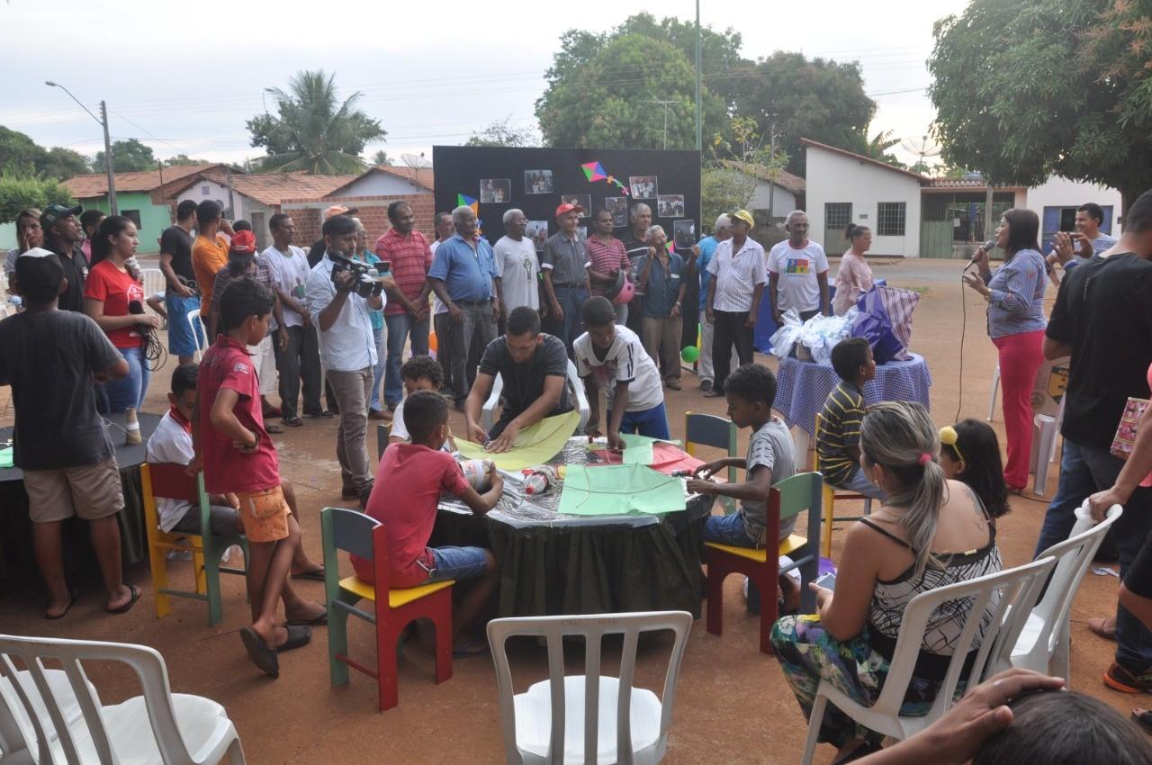 Semas de Porto Nacional realiza momento de interação entre famílias em comemoração ao dia dos pais