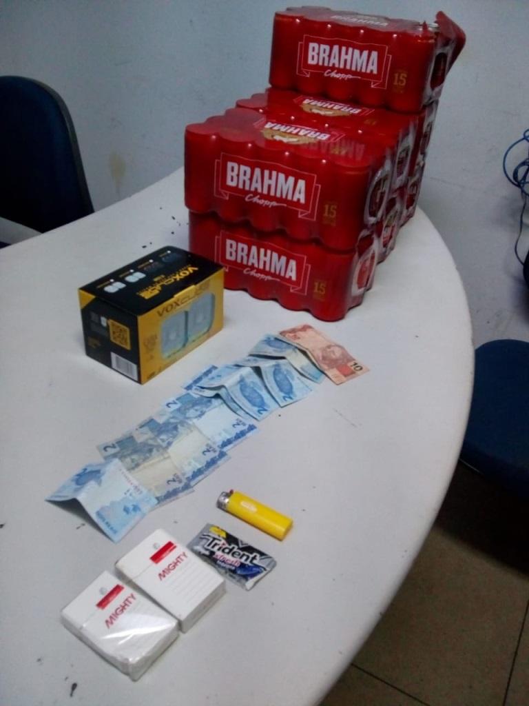 Polícia Militar captura homem subtraindo produtos de uma conveniência em Araguaína