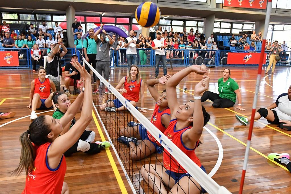 Único evento a unir esporte e paradesporto, LIGA NESCAU JP comemora Dia do Atleta Paralímpico