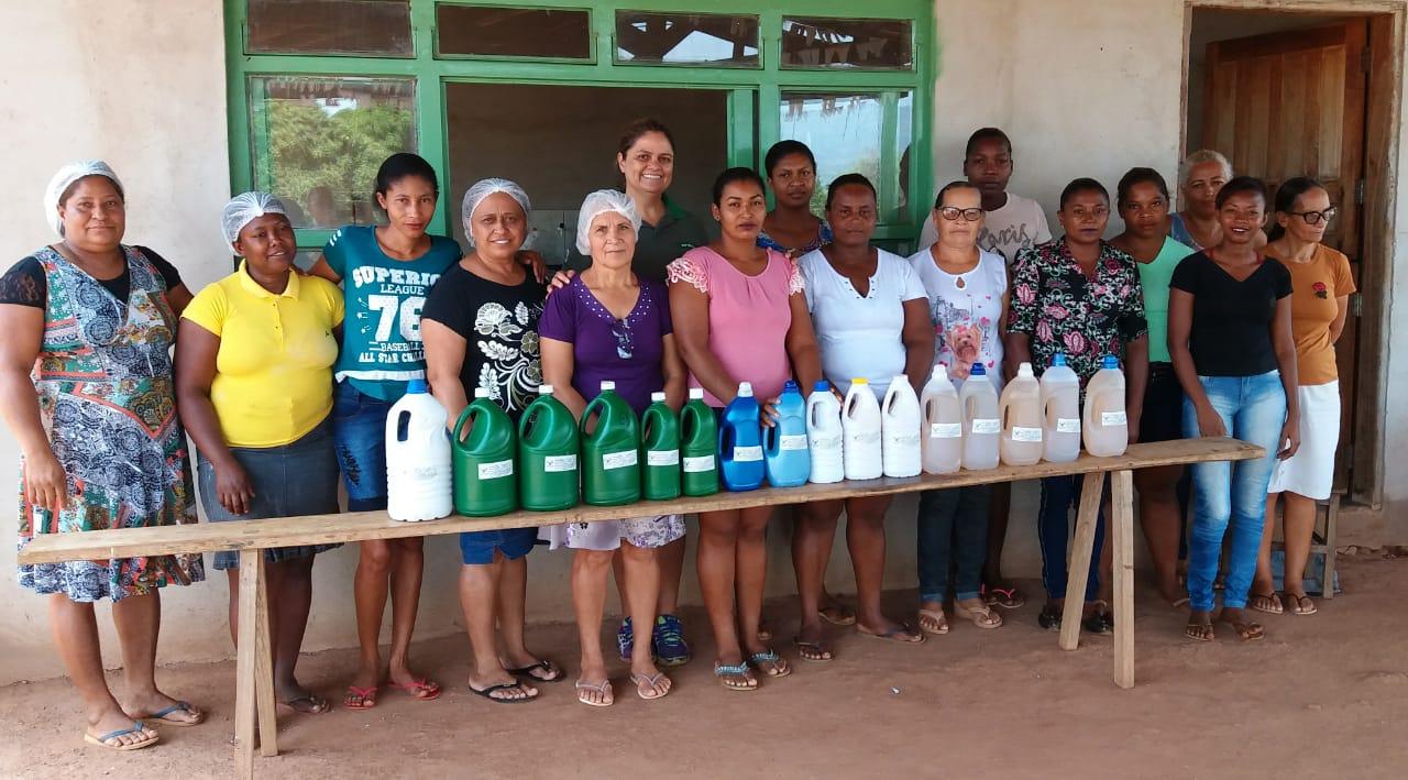 Senar realiza curso de Cozinha Rural para alunas em Paranã