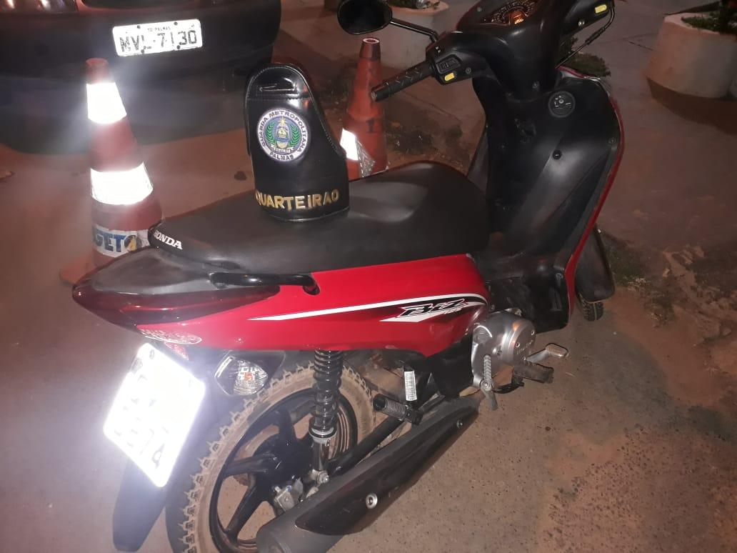 Em patrulhamento preventivo, GMP localiza motocicleta furtada