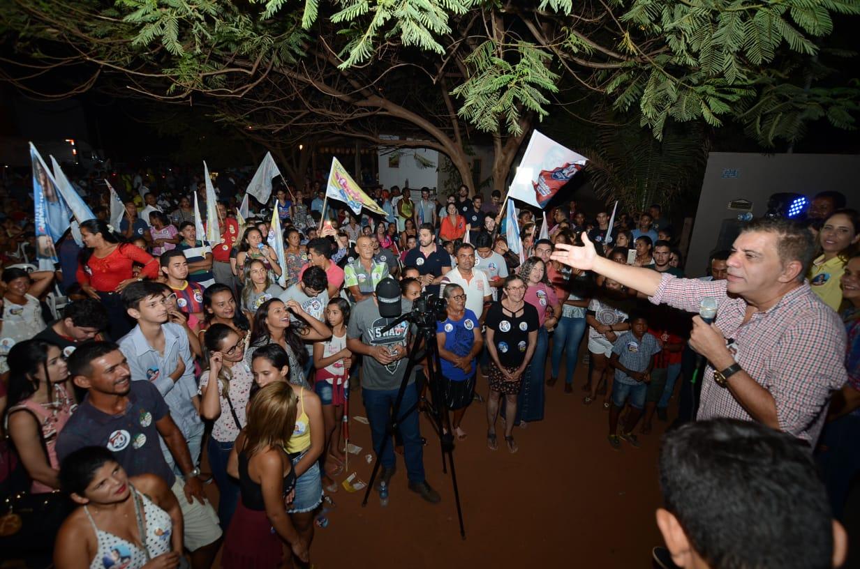 Amastha exalta regularização do Taquari em sua gestão e lembra que bairro nunca existiu para os governantes do Estado