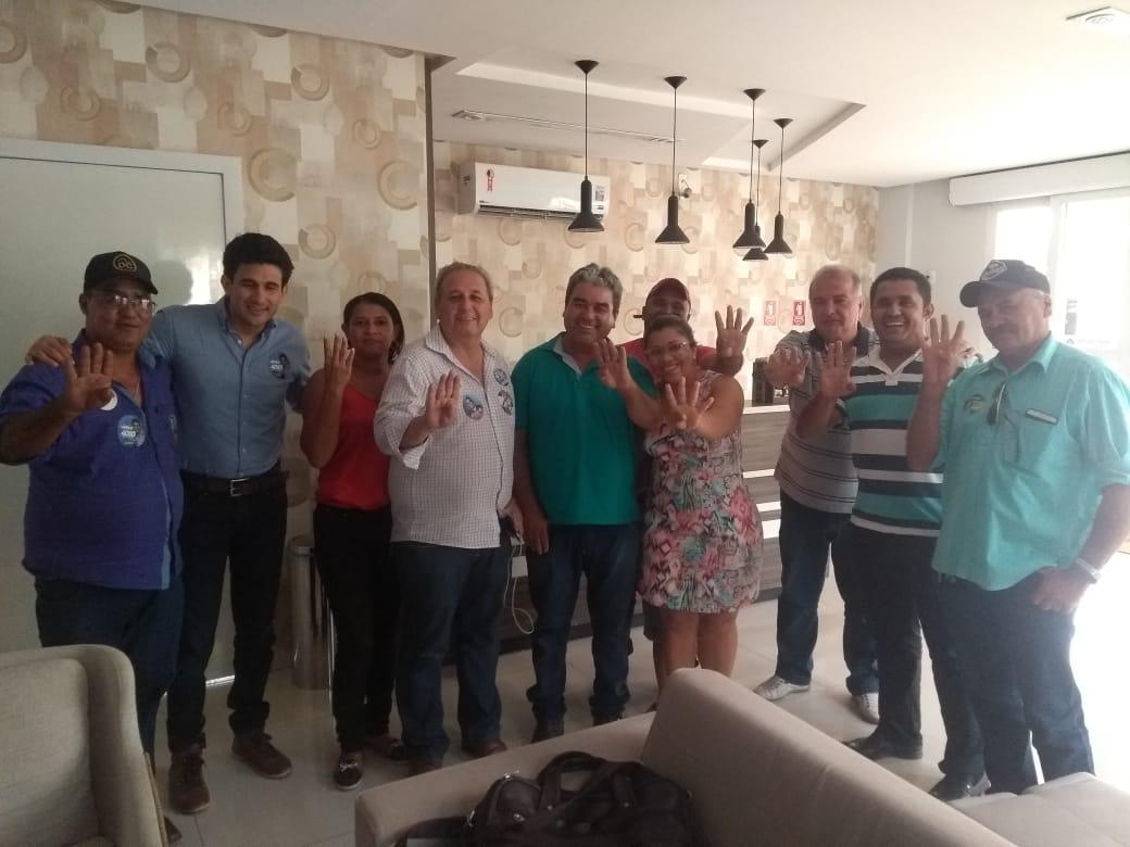 Presidente da Câmara e mais quatro vereadores de Araguanã também aderem à campanha de Amastha