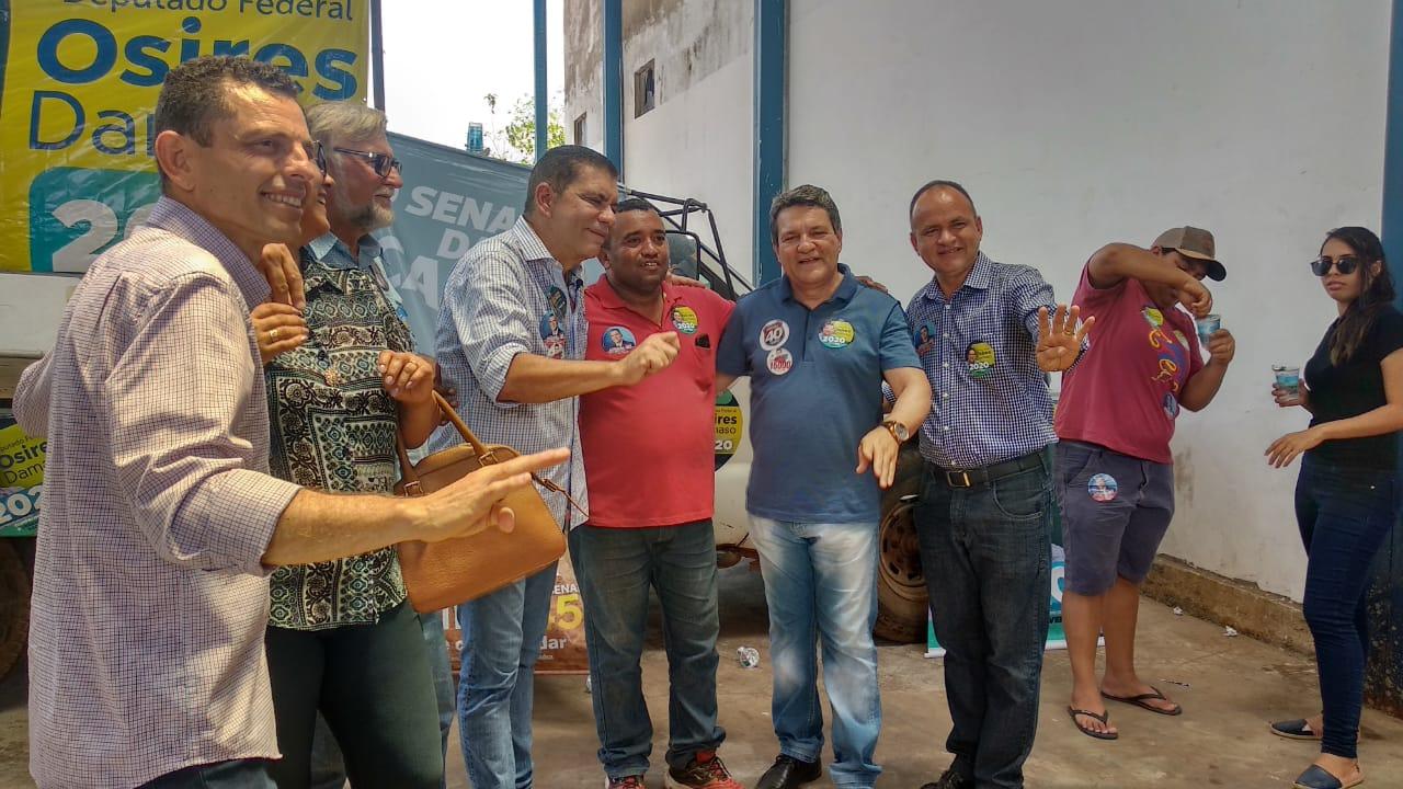 Ao lado do deputado Osires Damaso, Amastha defende que o Estado impulsione o crescimento econômico de Paraíso e região