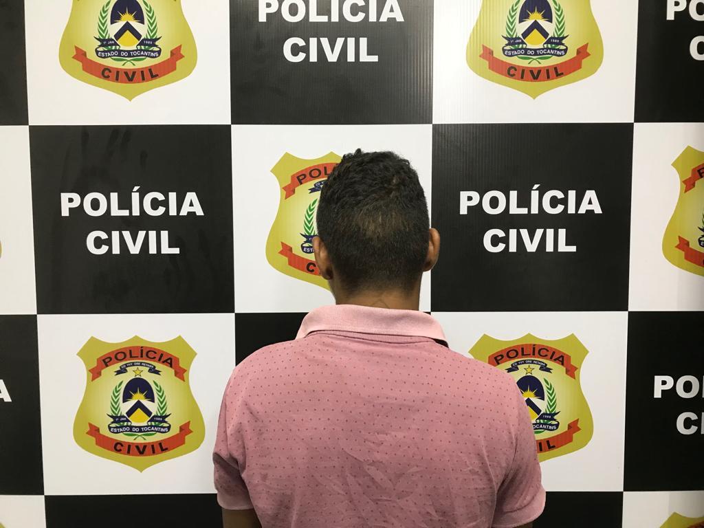 Adolescente suspeito de praticar homicídio é preso pela Polícia Civil em Paraíso (TO)