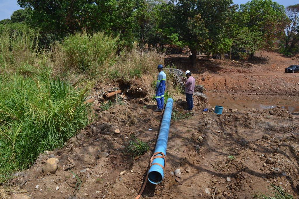 Adutora se rompe e prejudica abastecimento de água em Paraíso (TO)
