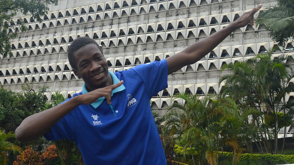 Atleta da UNG conquista o bicampeonato em salto triplo