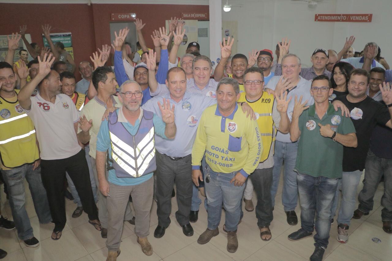 Com o apoio de toda classe dos mototaxistas, Gutierres Torquato, começa fazer história na política tocantinense