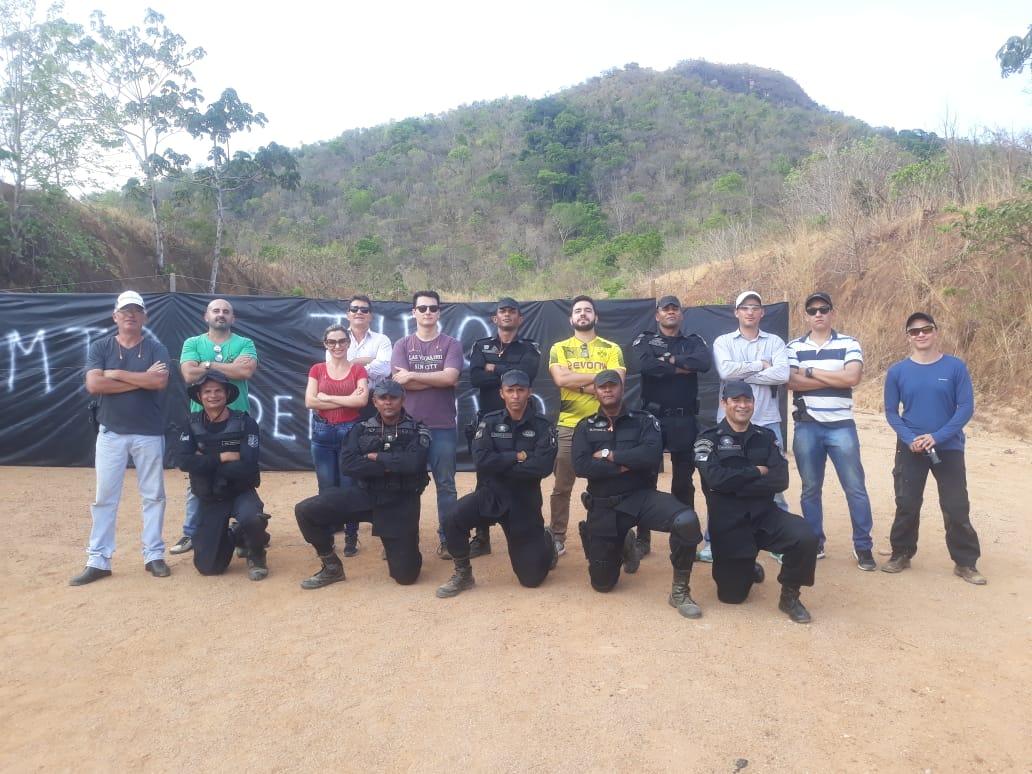 Companhia Independente de Operações Especiais da PM realiza instrução de Tiro Defensivo aos Promotores de Justiça em Palmas