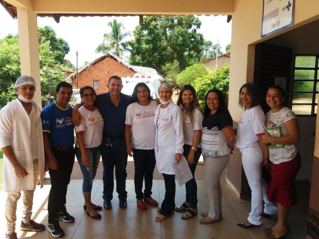 Programa Saúde da Mulher Rural e Saúde do Homem foi sucesso na região do Bico do Papagaio