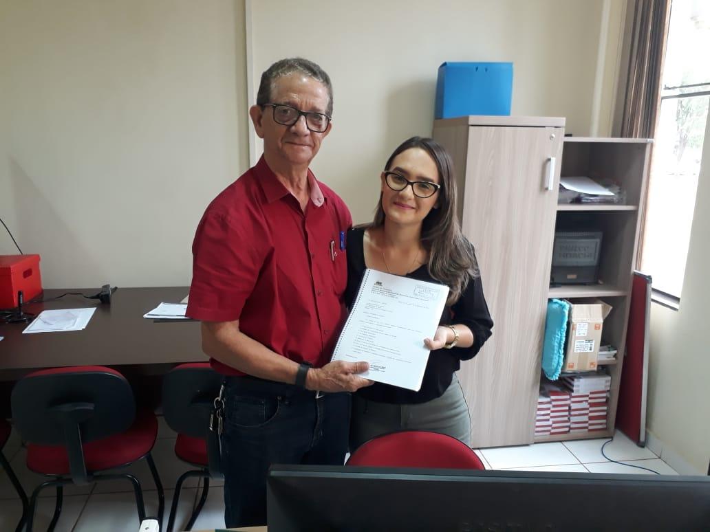 Presidente do MDB de Paraíso protocola registro do novo Diretório e Comissão Executiva