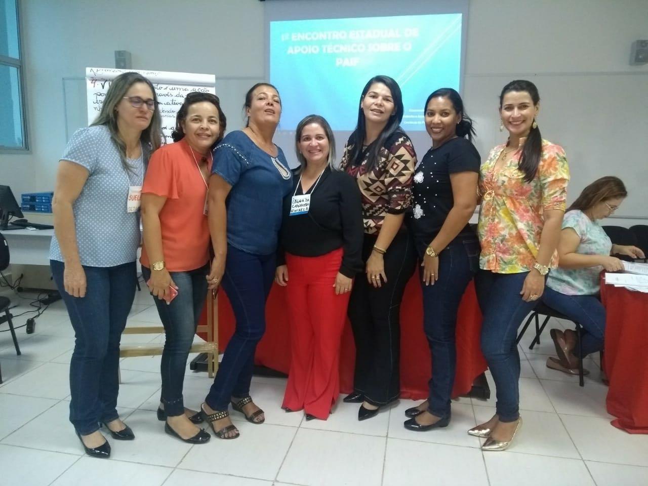 Representantes de Lagoa da Confusão participam do 1º Encontro Estadual de apoio Técnico sobre o PAIF