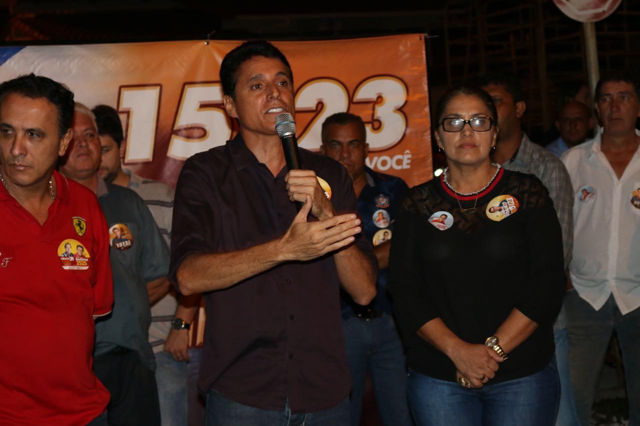 Nilton Franco participa de grande concentração popular em Colméia TO