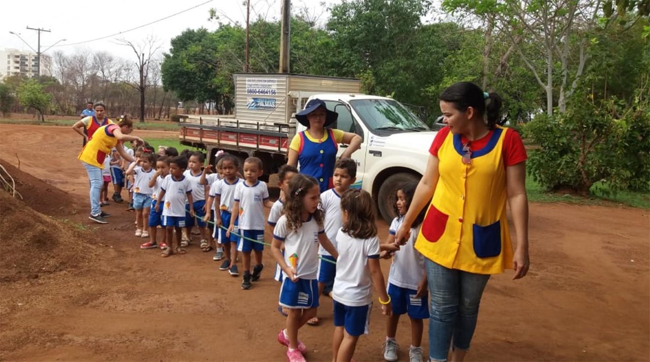 Em comemoração ao Dia da Árvore, escolas e Cmeis de Palmas promovem ações ecológicas