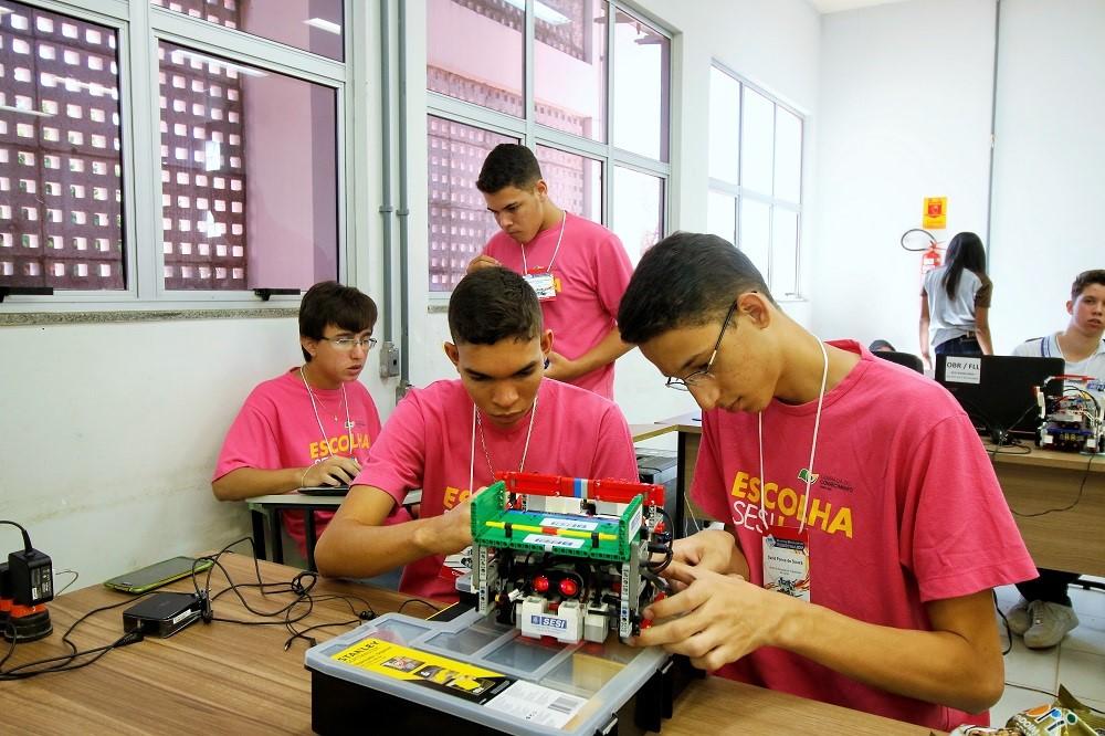 Escolas SESI participam de fase estadual da Olimpíada Brasileira de Robótica na próxima sexta e sábado, 21 e 22/09, em Palmas