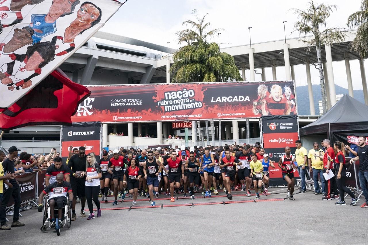 Nação Rubro-Negra em Movimento reúne cerca de 10.000 participantes no Maracanã