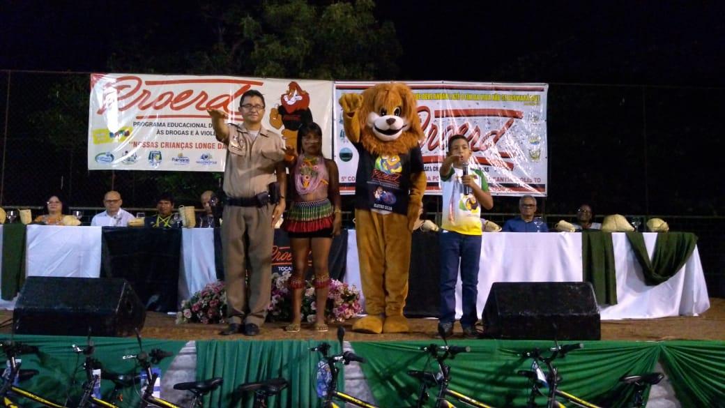Polícia Militar realiza formatura de 378 alunos no Proerd em Tocantinópolis
