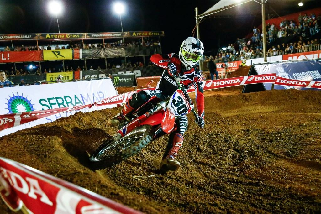 Honda Racing busca a vitória na terceira etapa do Arena Cross Brasil