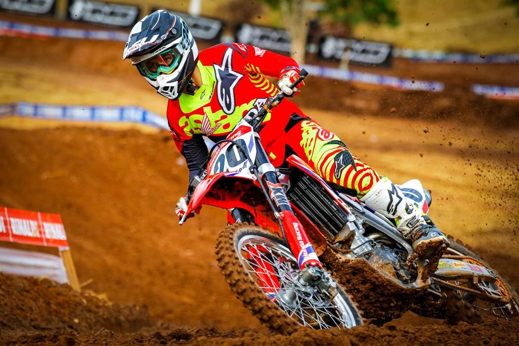 Jetro Salazar assume liderança da MX Elite no Brasileiro de Motocross