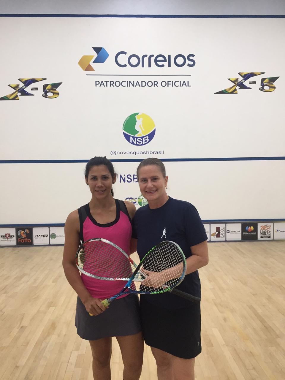 Circuito Correios de Squash – NSB: paulistanos Diego Gobbi e Karen Redfern são campeões em São Paulo