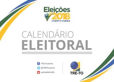 Confira os próximos prazos do Calendário Eleitoral para o segundo turno das Eleições Gerais 2018