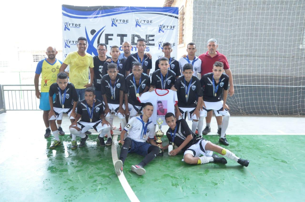 Com apoio da Prefeitura de Porto Nacional, Campeonato Tocantinense de Futsal movimenta a cidade no final de semana