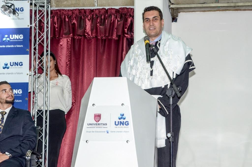 Eloi Lago assume a reitoria da Universidade UNIVERITAS/UNG