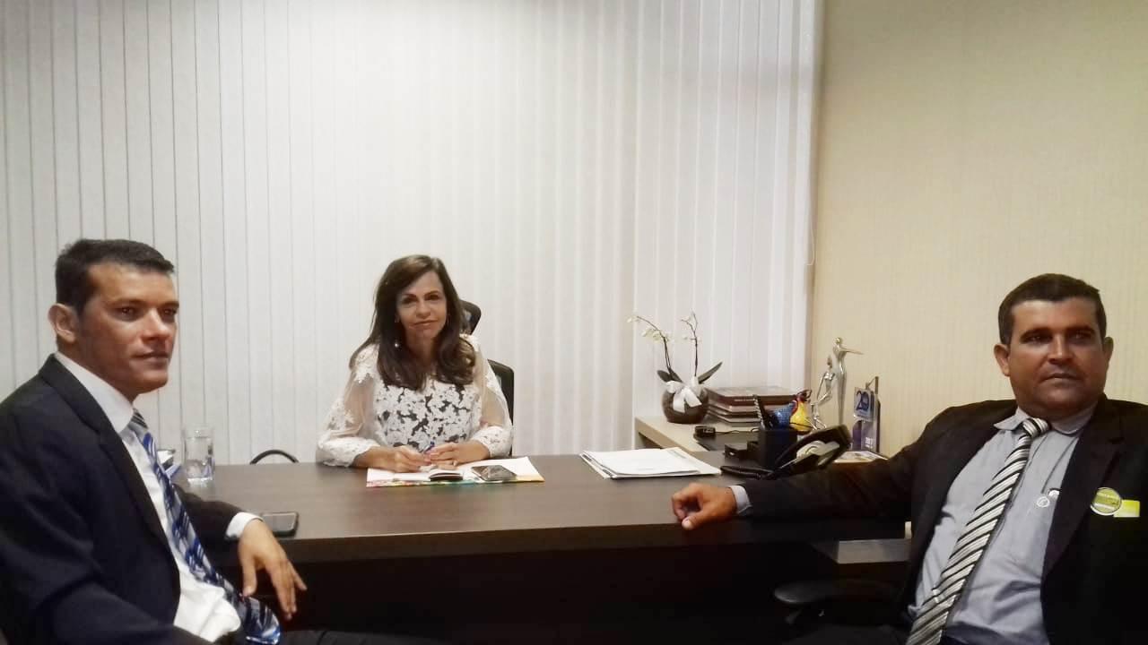 Em Brasília, prefeito Isaias Piagem e presidente da Câmara buscam recursos para Marianópolis (TO)