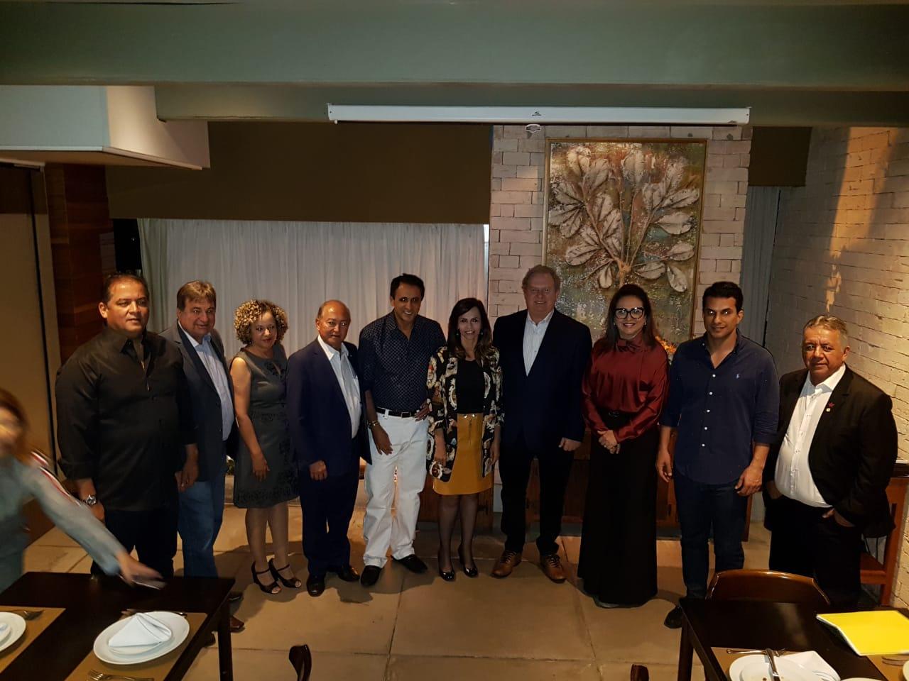 Governador visita Centro Tecnológico e se reúne com bancada federal em Brasília