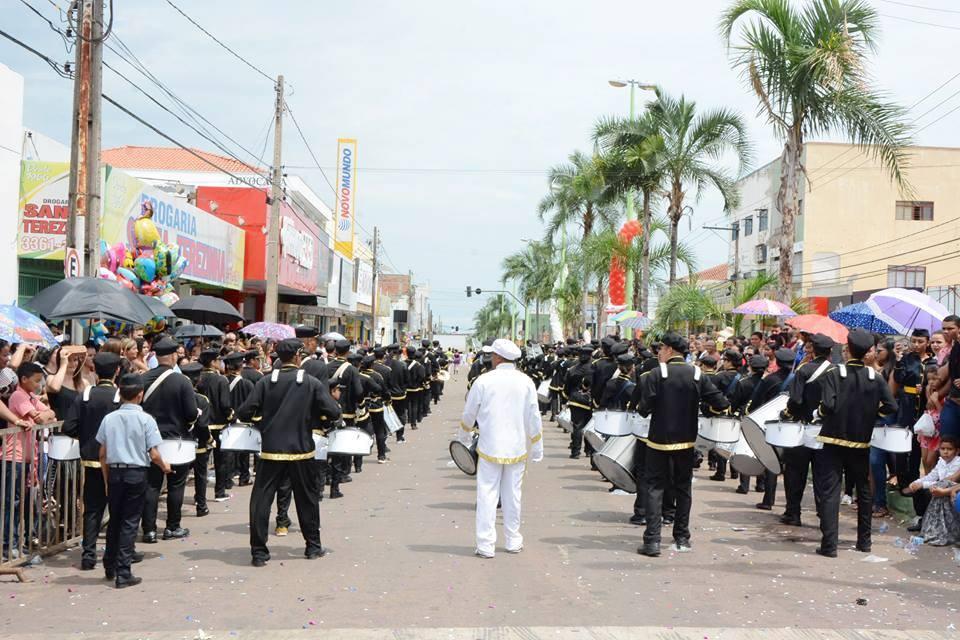 Paraíso do Tocantins comemora 56º aniversário com tradicional desfile na manhã desta quarta, 23