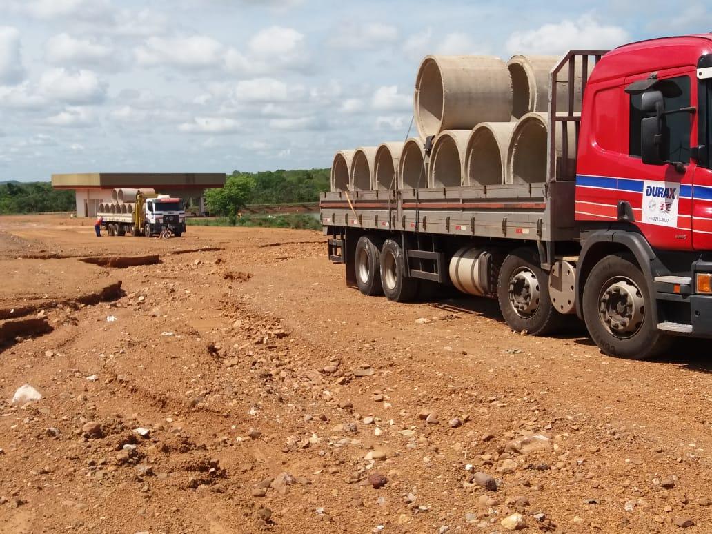 Parque das Nascentes recebe obras de drenagem em Pium (TO)