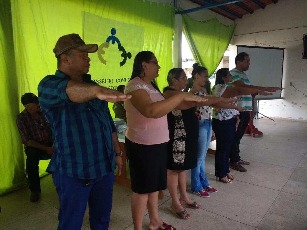 Diretoria do 1ª Conselho Comunitário de Segurança Rural é empossada no Tocantins