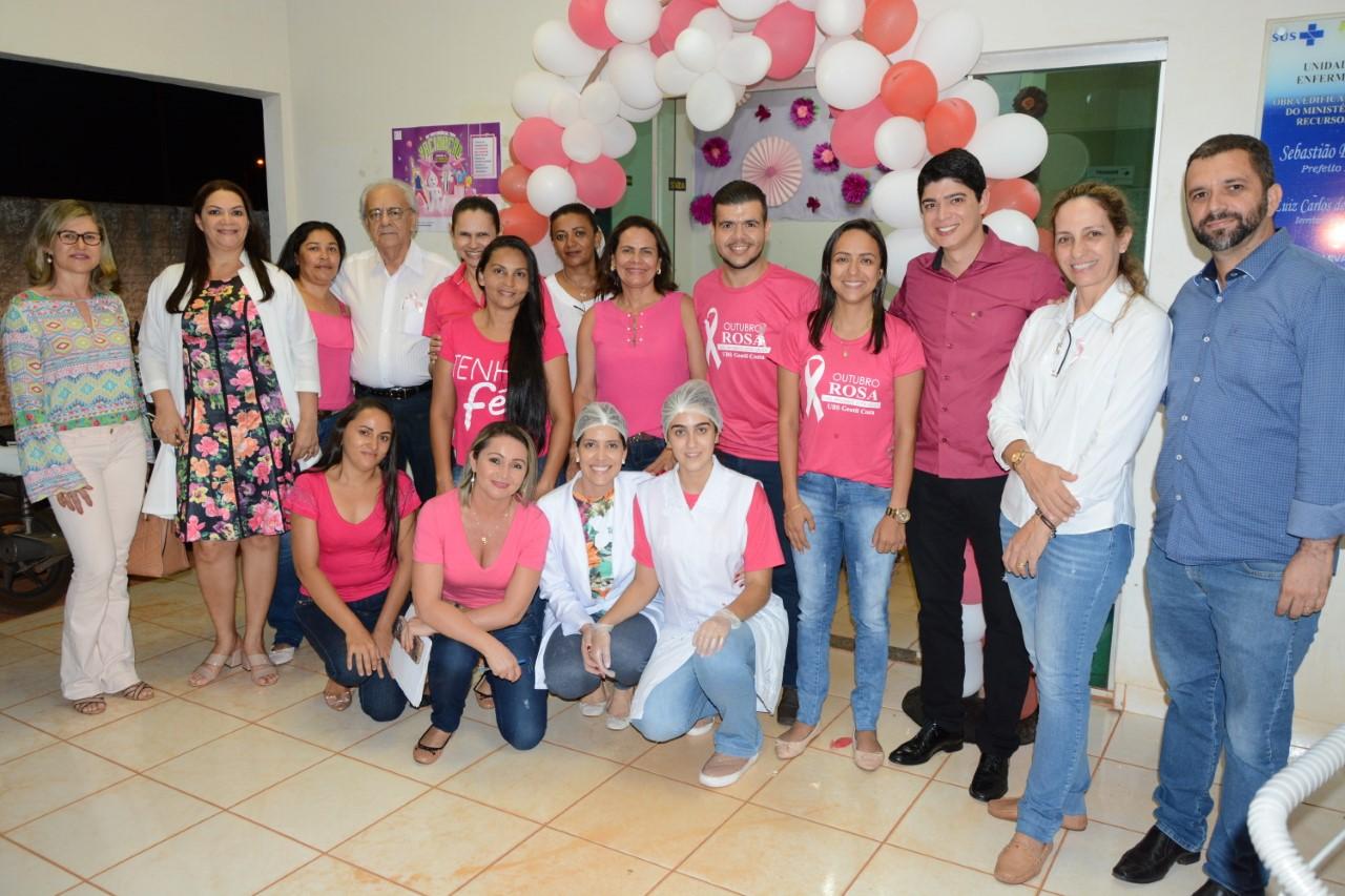 Mulheres em Paraíso participam de atividades no Outubro Rosa