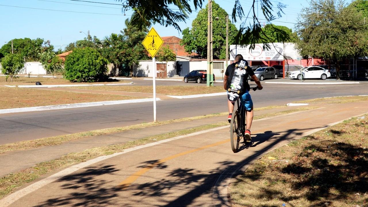 Ciclistas participam de teste para possível área de treinamento em Palmas