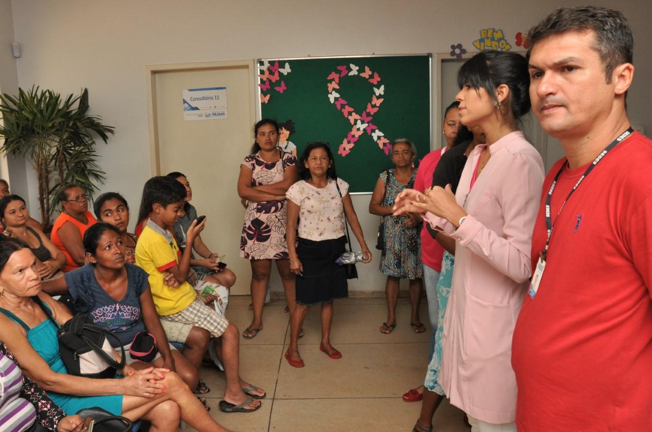 Mulheres atendem ao chamado e comparecem ao Dia D de Combate à Sífilis