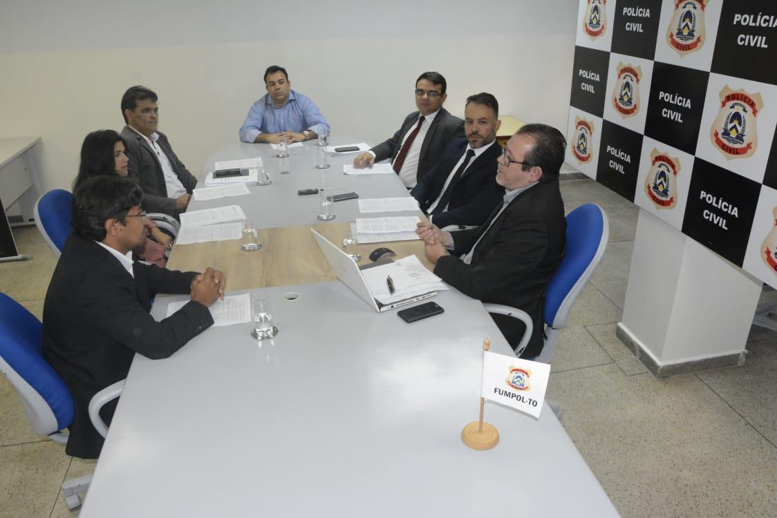 Reunião do Fumpol é realizada pela Secretaria da Segurança Pública em Palmas