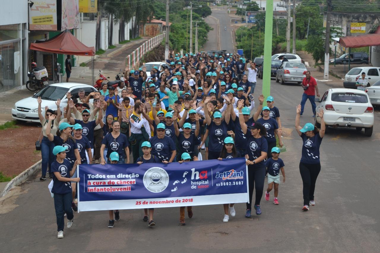 2ª Caminhada Passos que Salvam de Paraíso será realizada no dia 24 de novembro