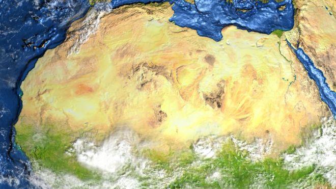 Pesquisas mostram que há milhares de anos a região do Deserto do Saara era muito verde, com fauna e flora ricas