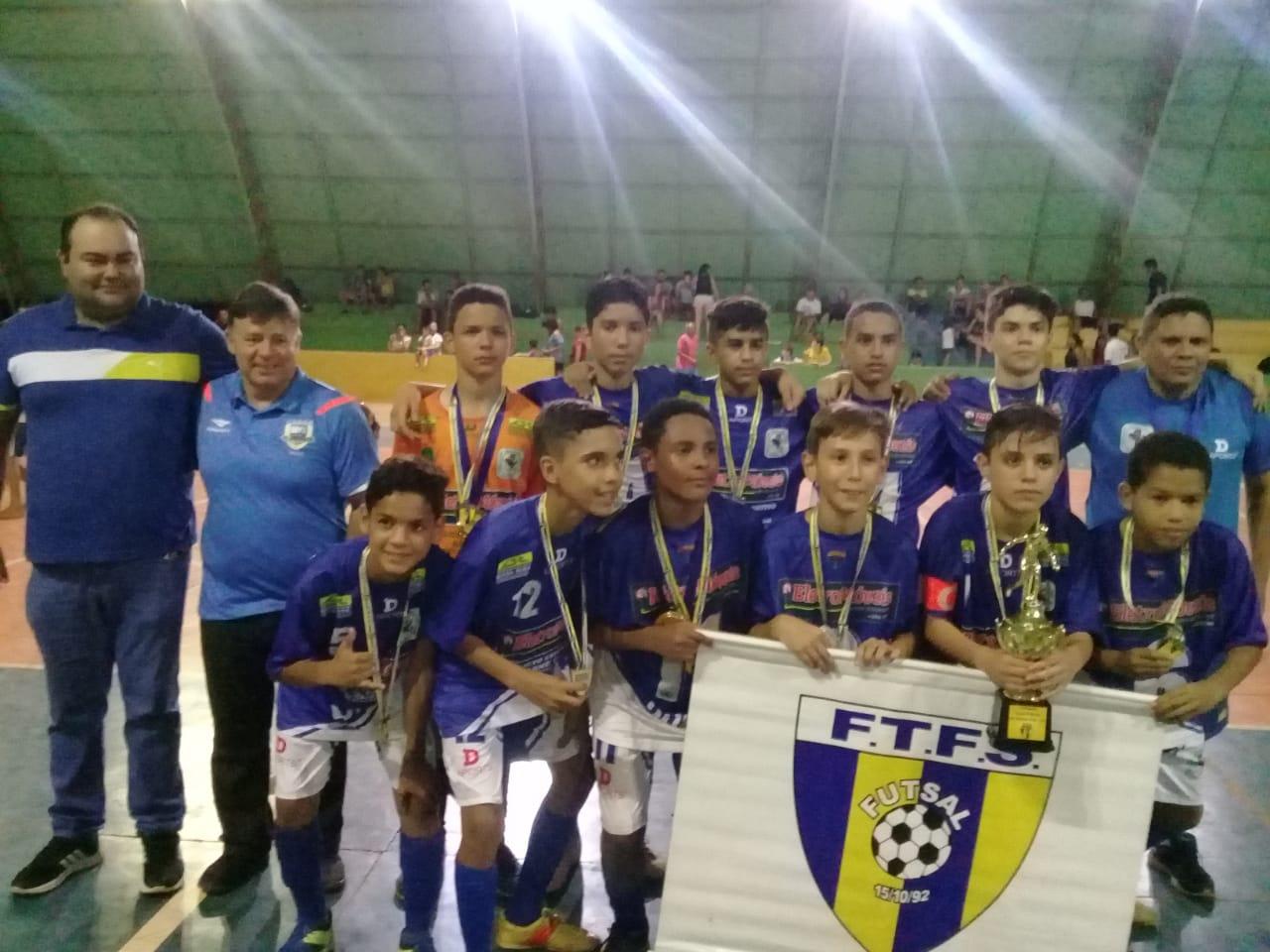 Arne 64 é Bi-Campeão da Copa Palmas Sub-13