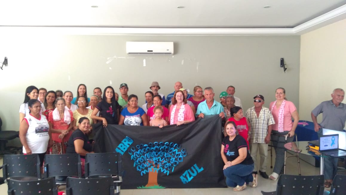 Novembro Azul: Monte Santo promove palestra sobre câncer de próstata
