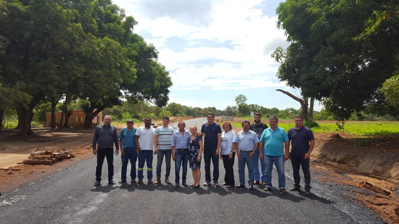 Rodovia entre Chapada de Areia e Paraíso (TO) está 100% pavimentada; inauguração deve acontecer ainda em novembro
