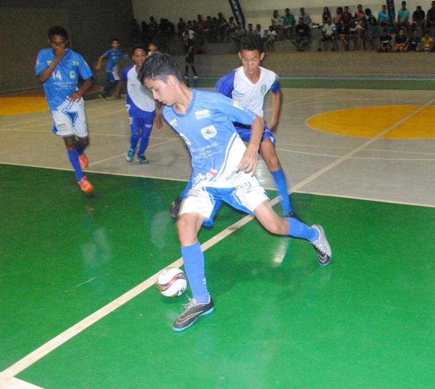 Definidos os finalistas da Copa Palmas Sub-13 de Futsal 2018