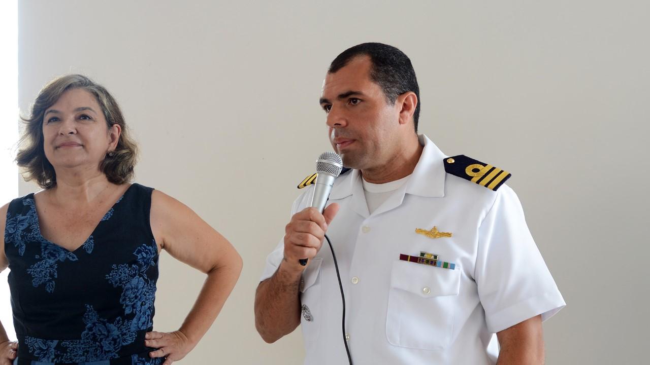 Comunidade recebe prédio do Cras 1.304 sul revitalizado pela Marinha do Brasil